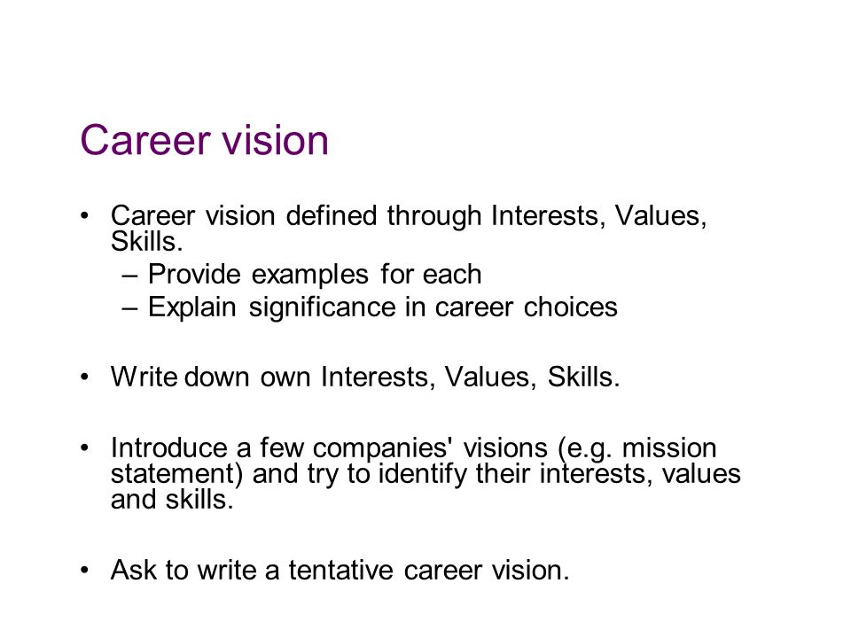 Career strategy workshops - ppt video online download