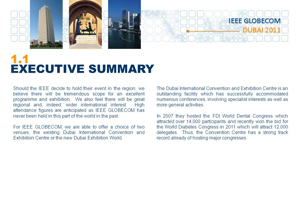 TABLE OF CONTENTS Executive Summary - ppt download