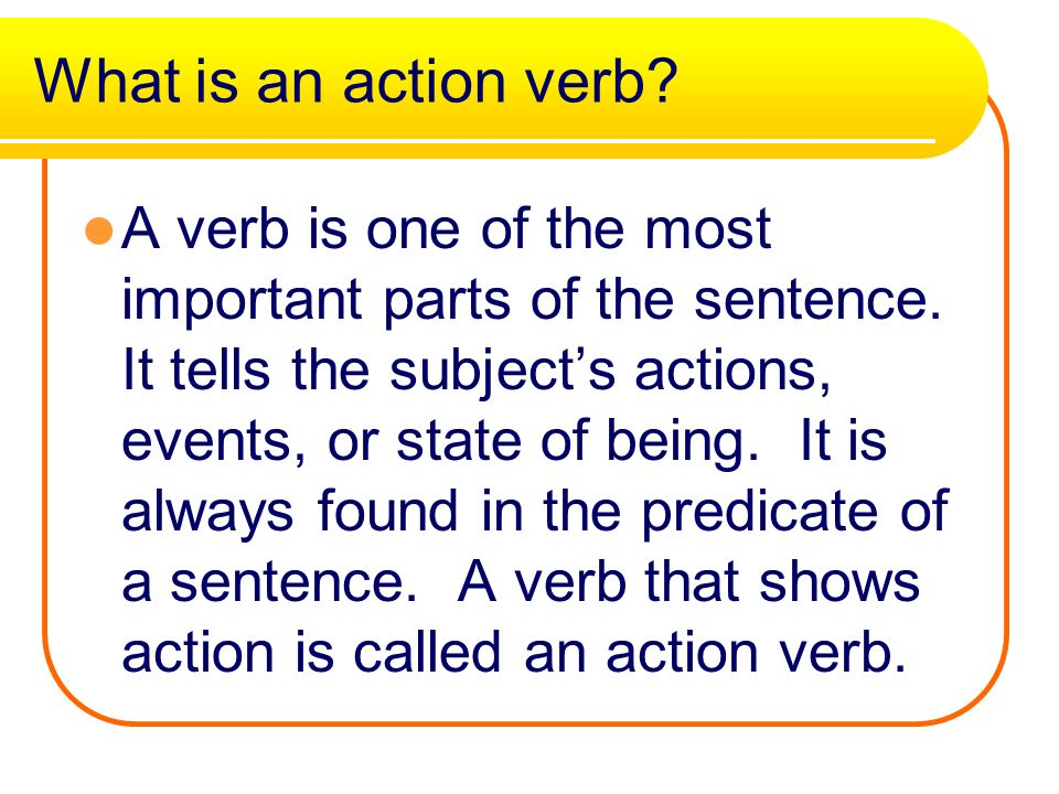 Action Verbs English 1 jump - ppt video online download