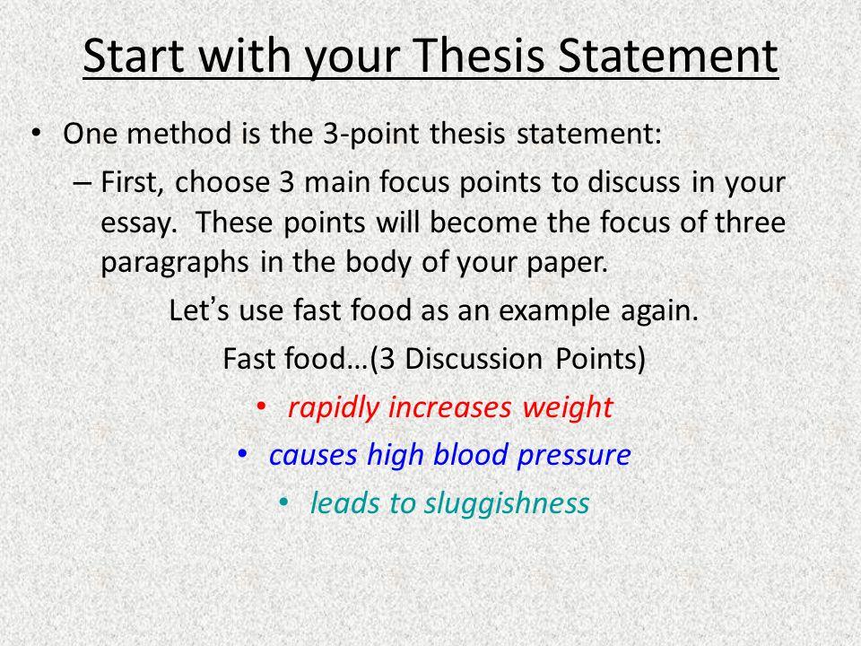 Image analysis essay format