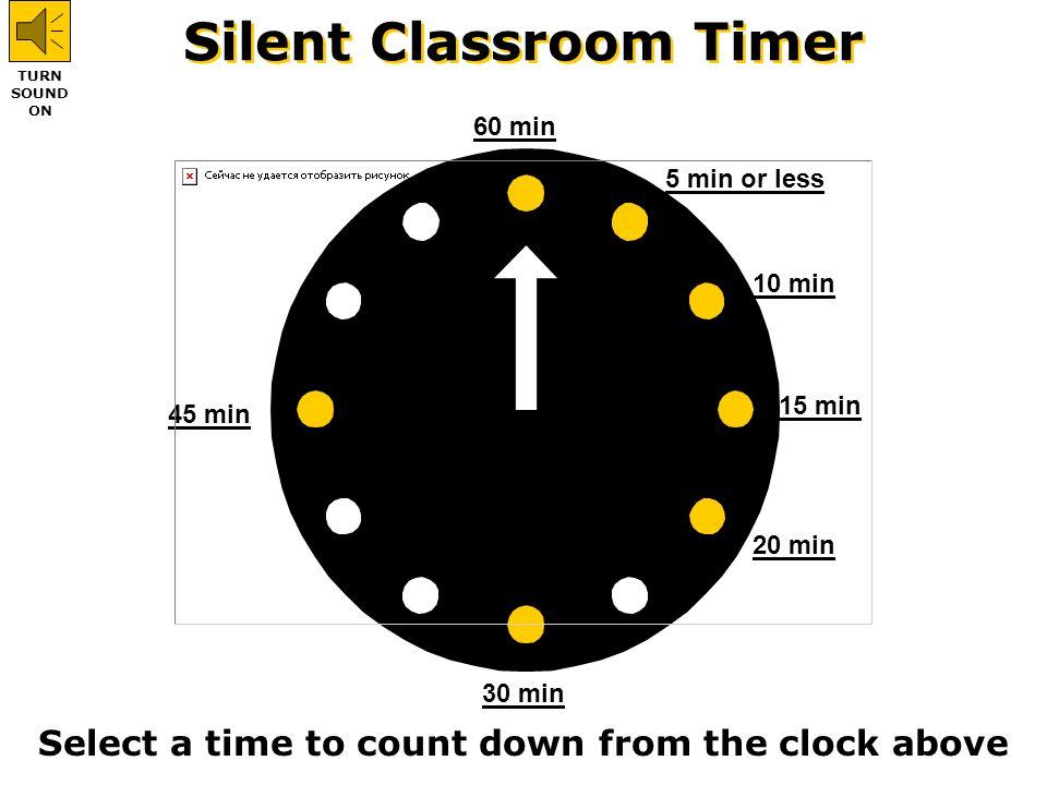 Silent Classroom Timer - ppt video online download