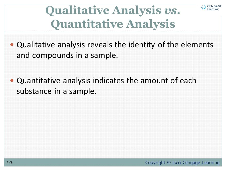 Introduction to Analytical Chemistry - ppt video online download - sample quantitative analysis