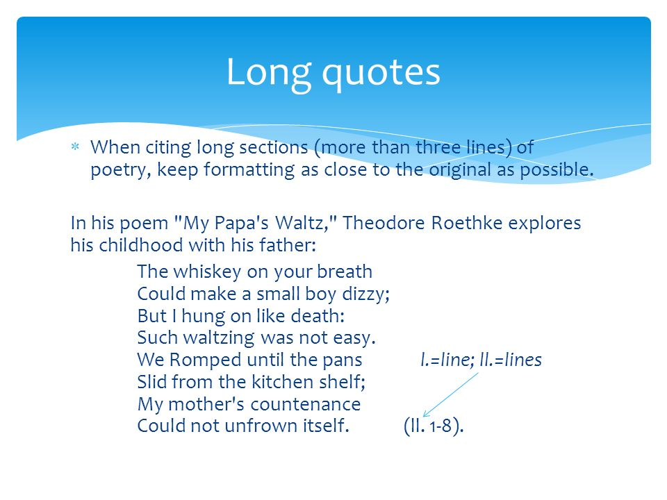 Citing poetry in MLA style - ppt video online download