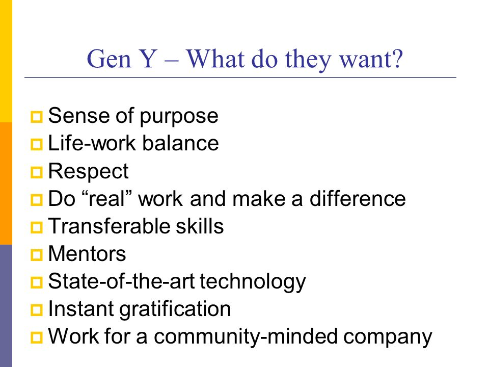 Closing the Generation Gap Leading Today\u0027s Multi-Generation - gen y in the workplace