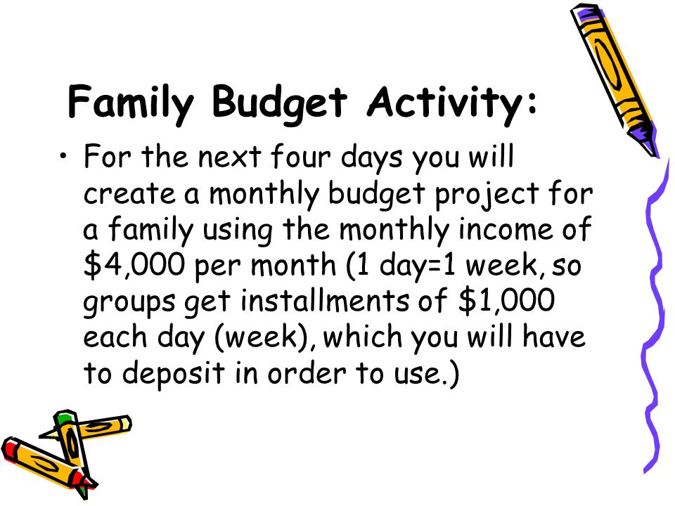 How to budget your money? - ppt video online download
