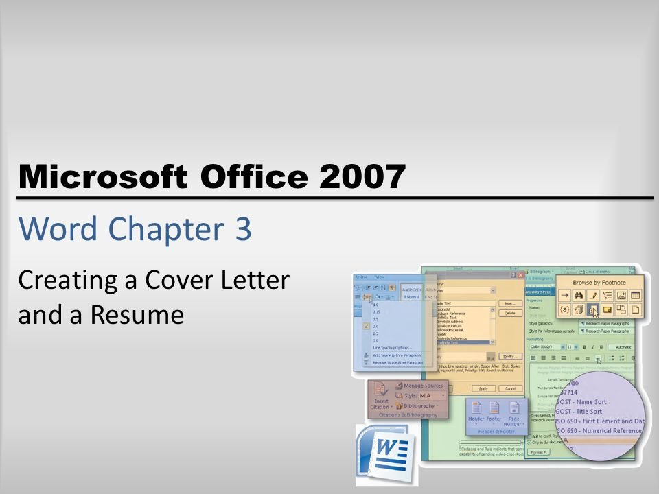 Creating a Cover Letter and a Resume - ppt video online download