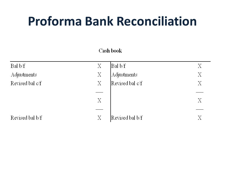 Bank Reconciliation - ppt download