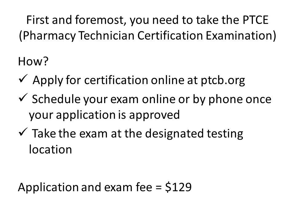Pharmacy Technician Licensure Ppt Video Online Downloadptce Dumps