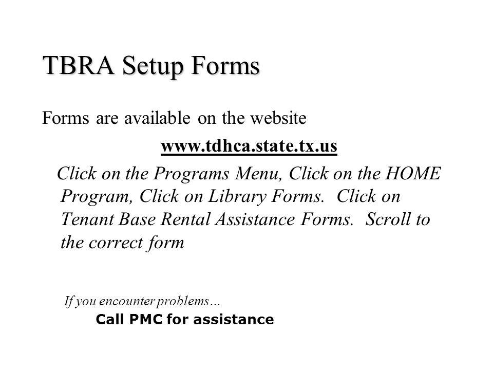 HOME Program Tenant Based Rental Assistance - ppt download