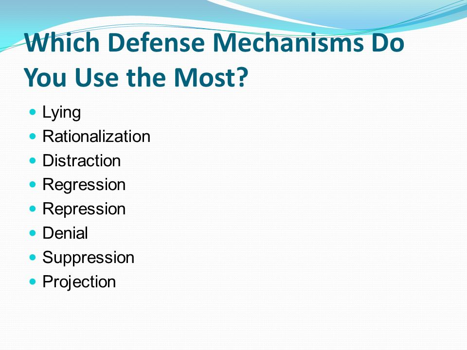Regression as a defense mechanism Research paper Help - defense mechanisms