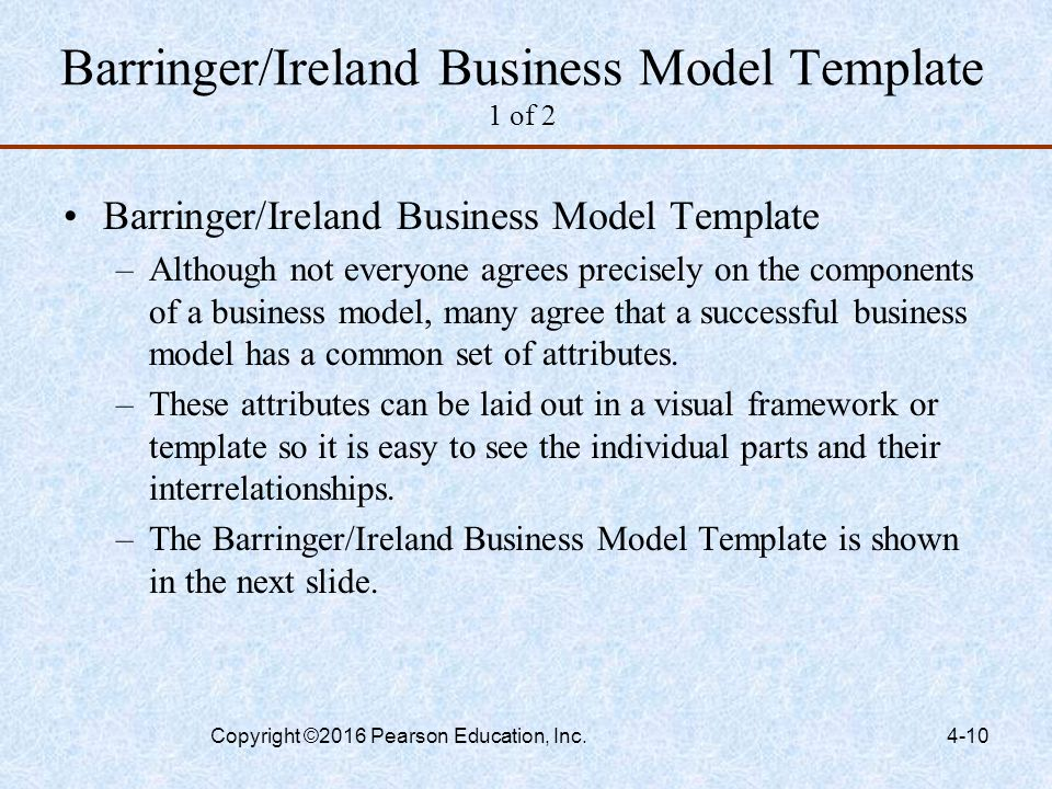 Developing an Effective Business Model - ppt video online download