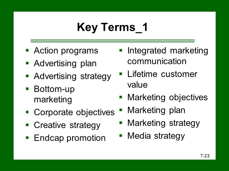 Developing Marketing and Advertising Plans - ppt video online download - advertising plan