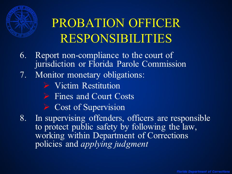 REPORTING VIOLATIONS OF PROBATION - ppt video online download