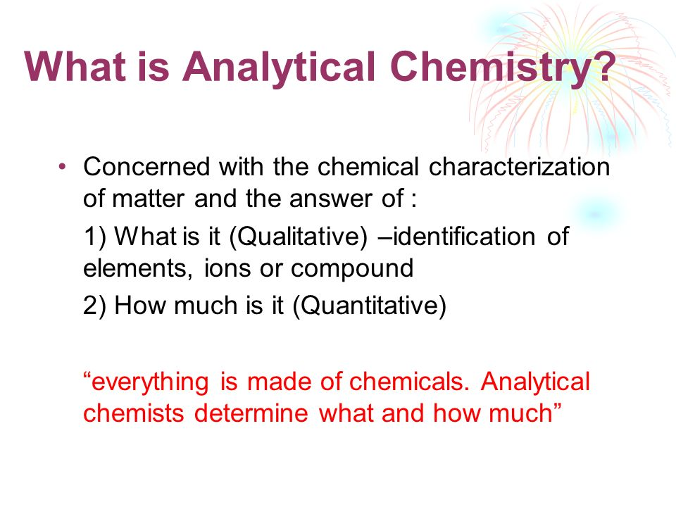 ERT207 ANALYTICAL CHEMISTRY - ppt video online download