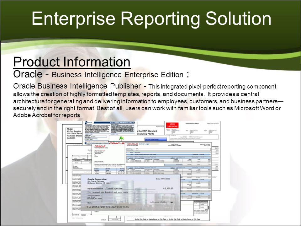 Enterprise Reporting Solution - ppt download