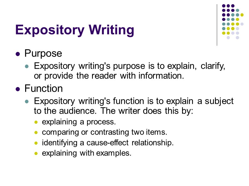 Writing an Expository Essay - ppt download