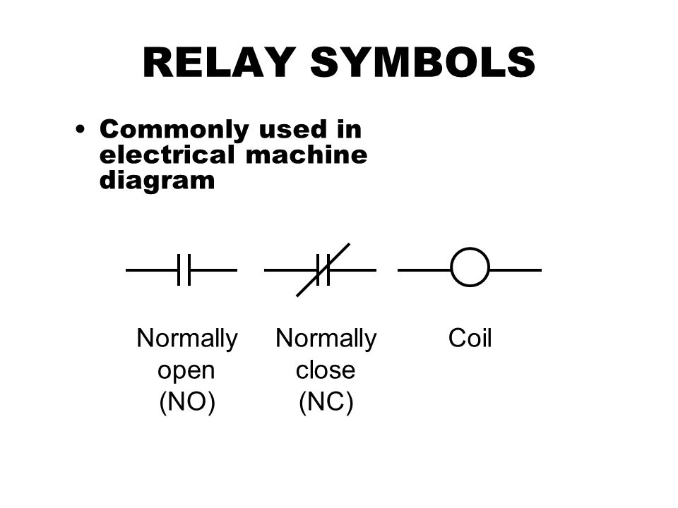 relay basic principle