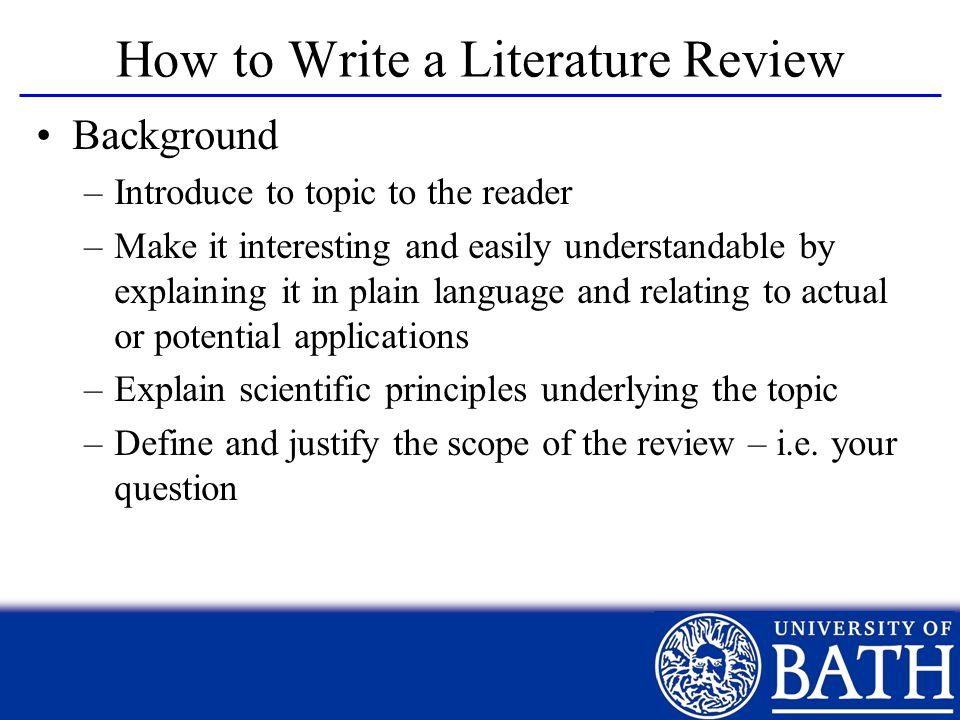 How to write a thesis statement for a research paper powerpoint Term