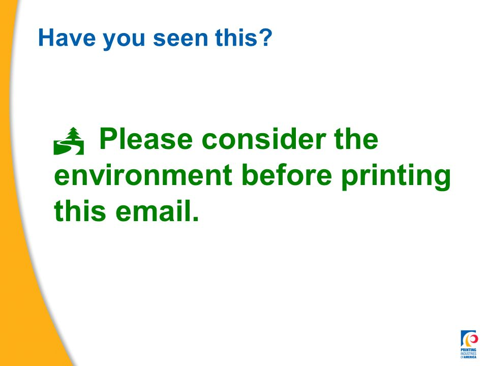 Why Print Is Sustainable - ppt video online download