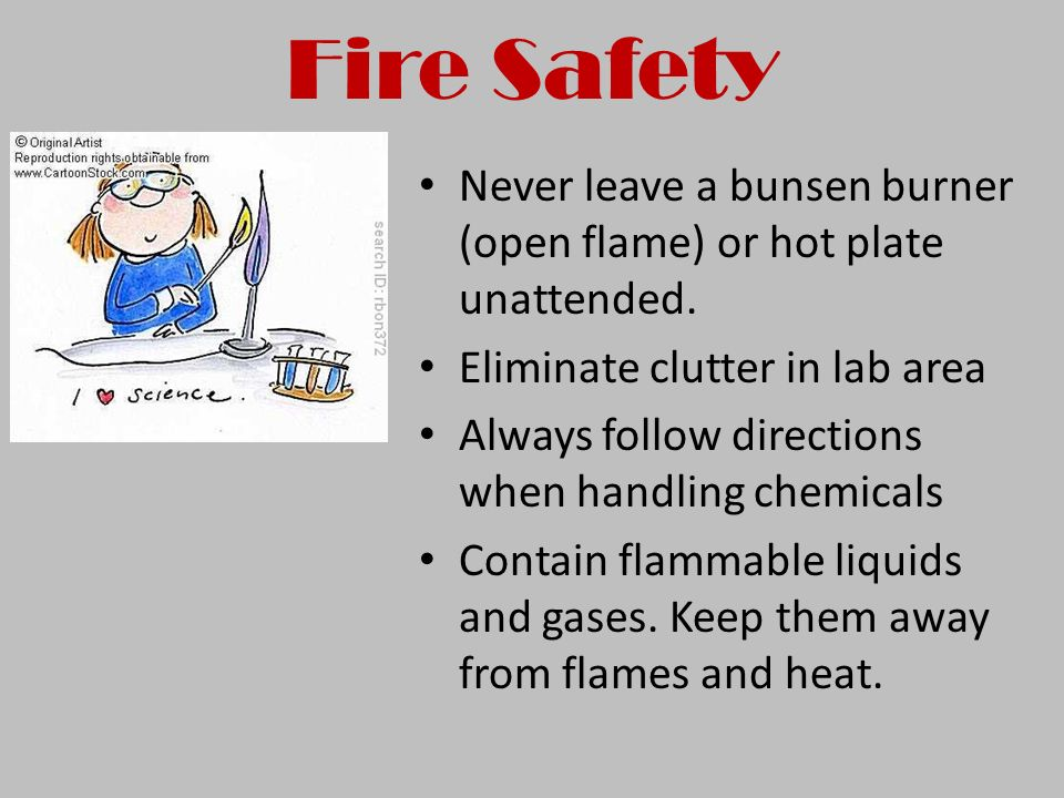 CHEMISTRY SAFETY NOTES - ppt video online download