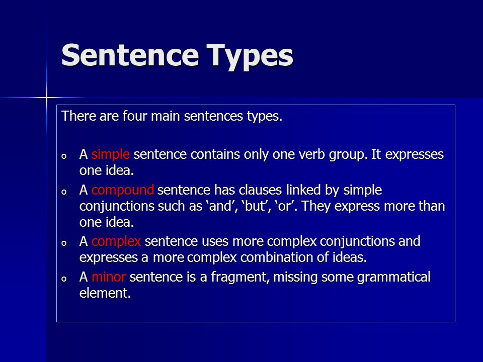 Sentence Types and Functions - ppt video online download