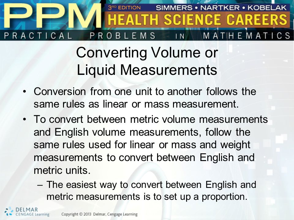 Volume or Liquid Measurement - ppt video online download - weight by measurements