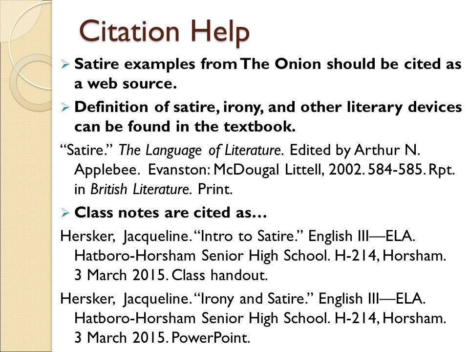 Satire high school essay Coursework Help ootermpaperjlcq