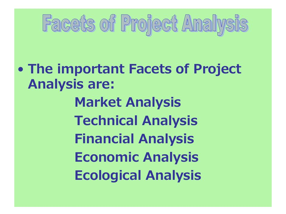 Project Feasibility Analysis - ppt video online download - project analysis