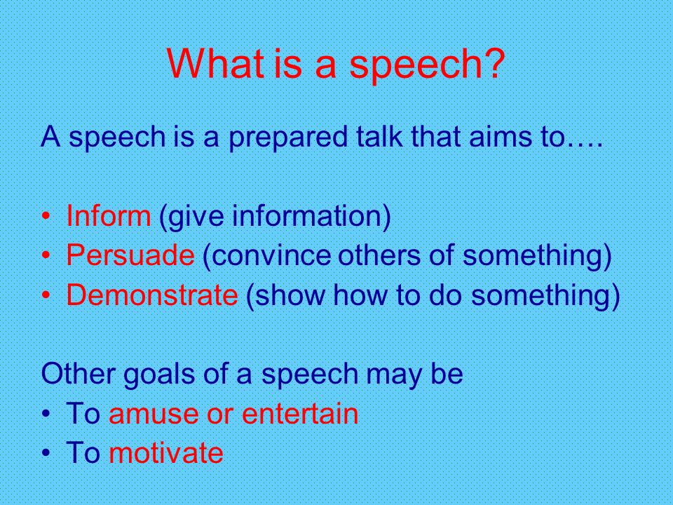 Public Speaking \u201cSurveys show that the number one fear of Americans