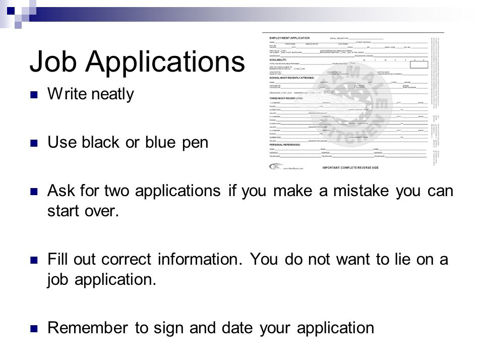 Job Applications and Interviews - ppt video online download