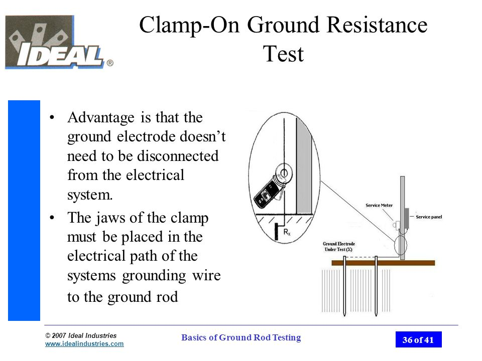 Basics of Ground Rod Testing - ppt video online download