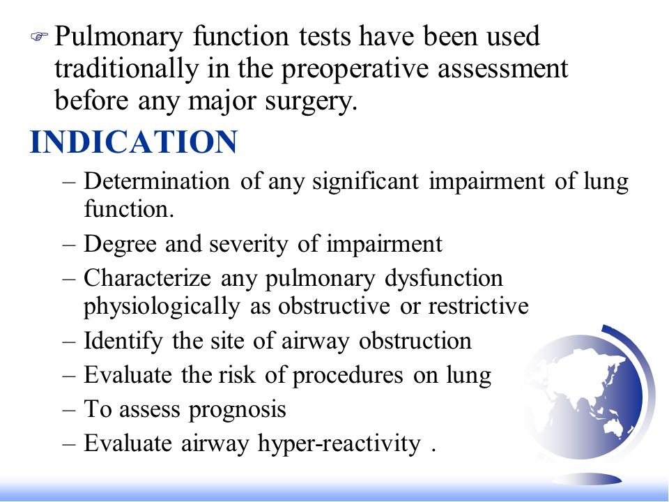 Bed side tests of Pulmonary function - ppt download