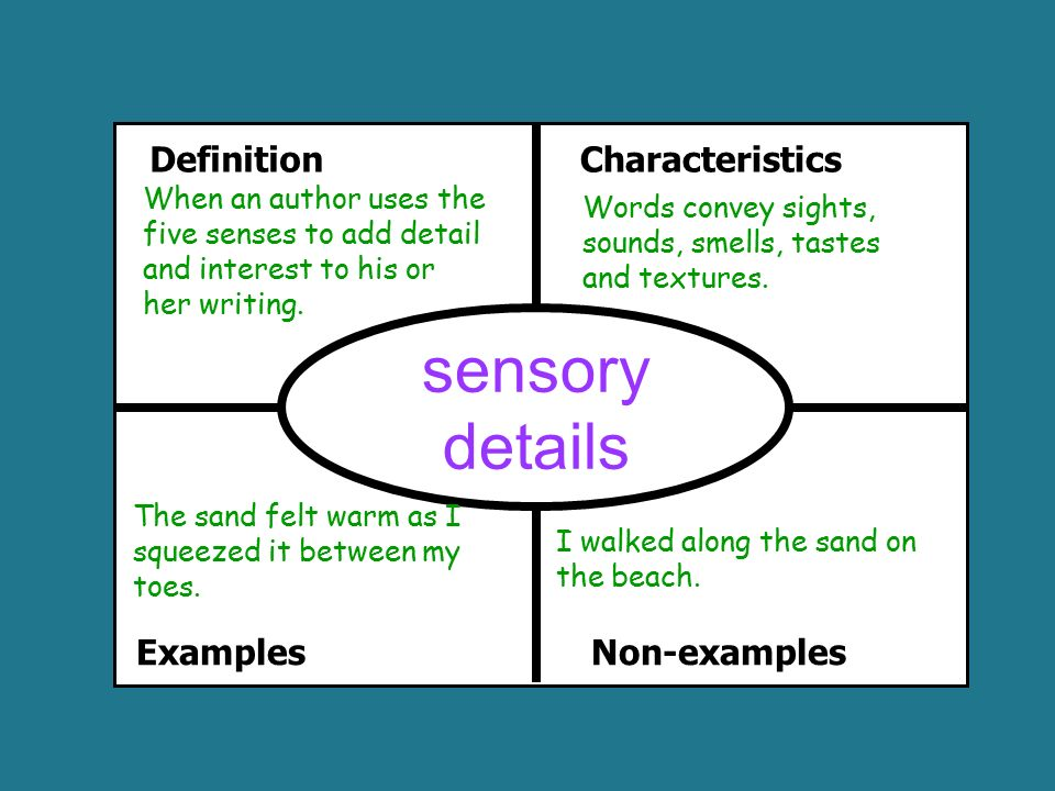 Sensory Essay  Ivoiregion List Of Sensory