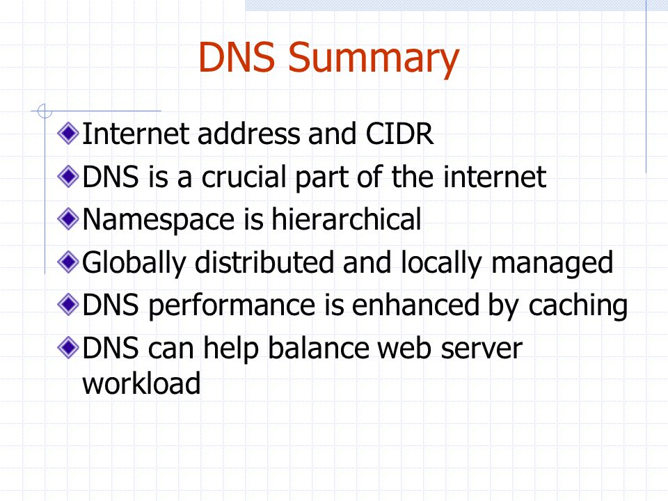 Internet Address and Domain Name Service (DNS) - ppt download
