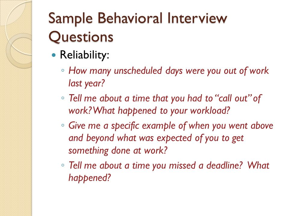 Top 10 Behavioral Interview Questions and Answers - mandegarinfo
