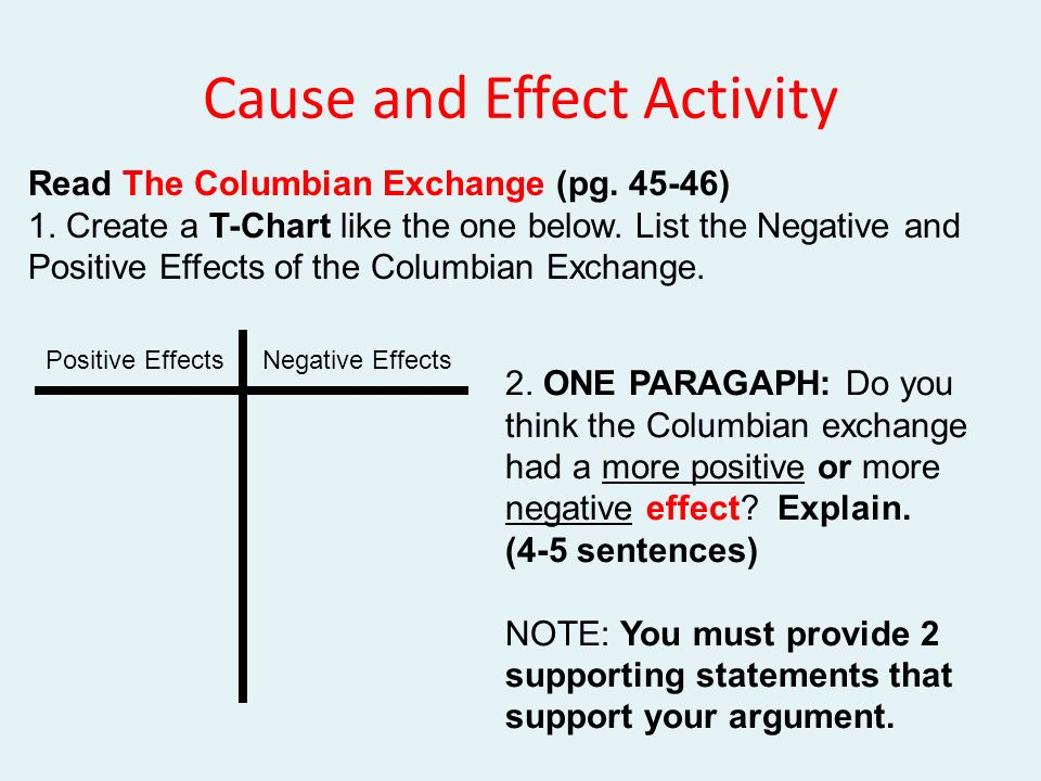 The Columbian Exchange Biological And Cultural Consequences Of ...