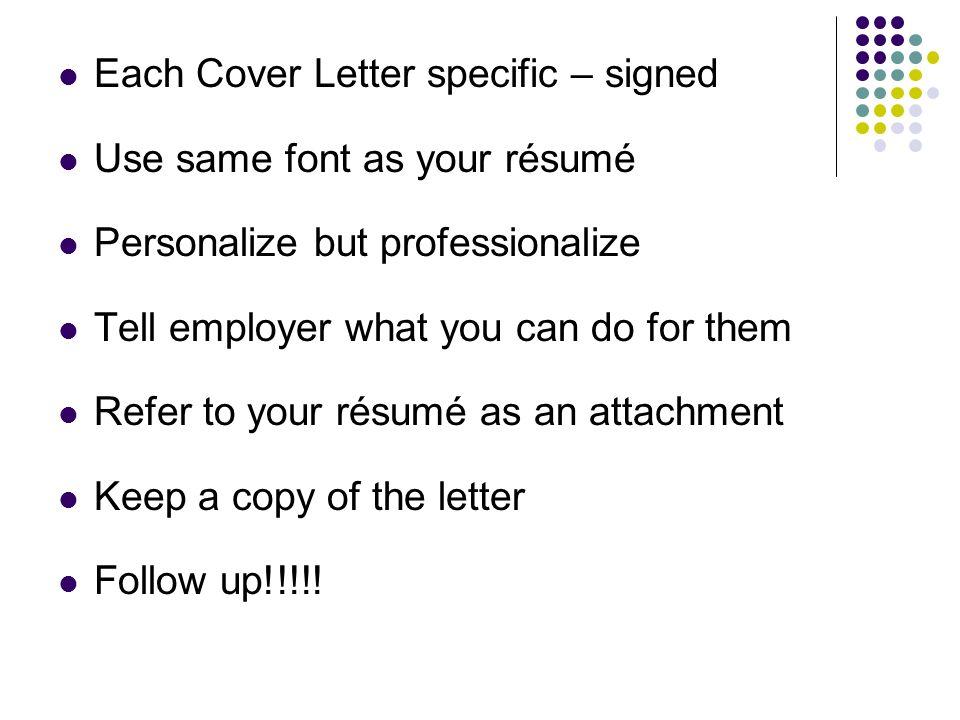 Résumés and Cover Letters - ppt video online download