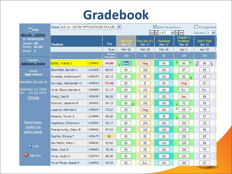 Simple Scheduling, Gradebook  Report Card Overview - ppt video