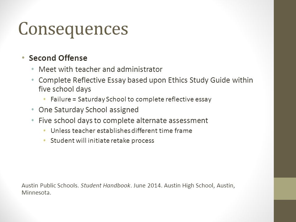 Academic Integrity Policy - ppt download