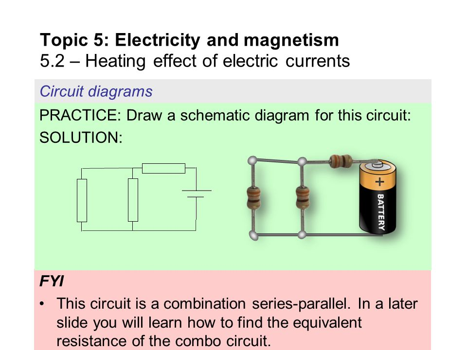 Topic 5 Electricity and magnetism 5 - ppt download