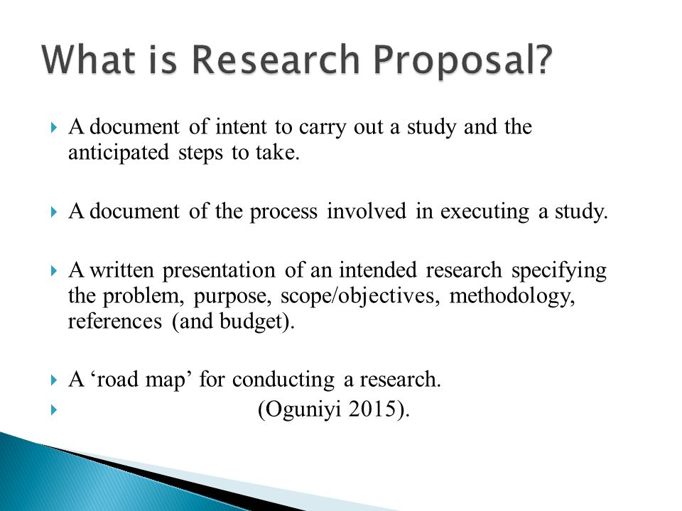 APPROACH TO PROPOSAL WRITING - ppt video online download