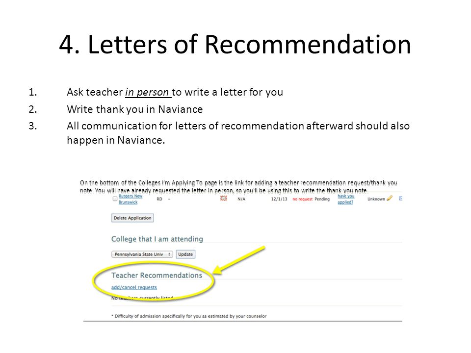 How To Write A Thank You Note For Letter Of Recommendation