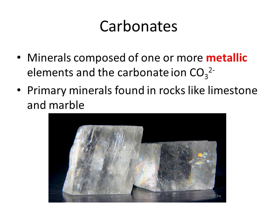 Types of Minerals Chapter ppt download