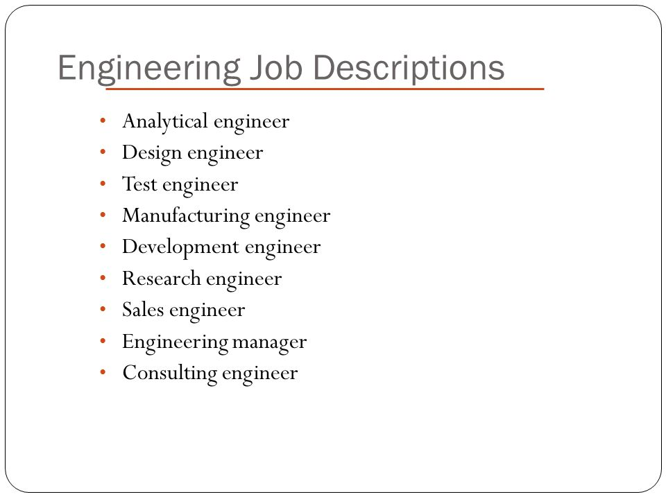 MECHANICAL ENGINEER By MRAJESH KANNA ppt video online download - mechanical engineer job description