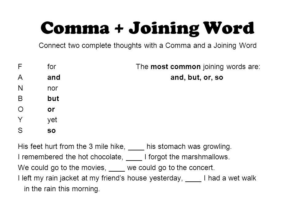 Run Together Sentences A/K/A Run-on Sentences - ppt download