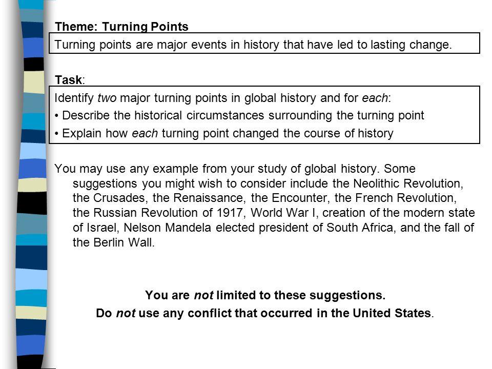 Us History Regents Thematic Essay Turning Points Mistyhamel