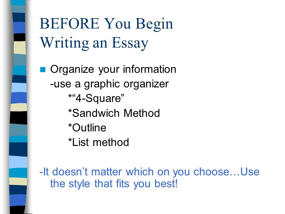 How to Write a Thematic Essay - ppt video online download