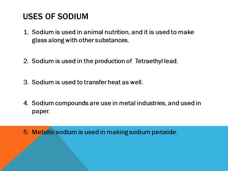 Sodium By Jacob Kegg Ppt Video Online Download