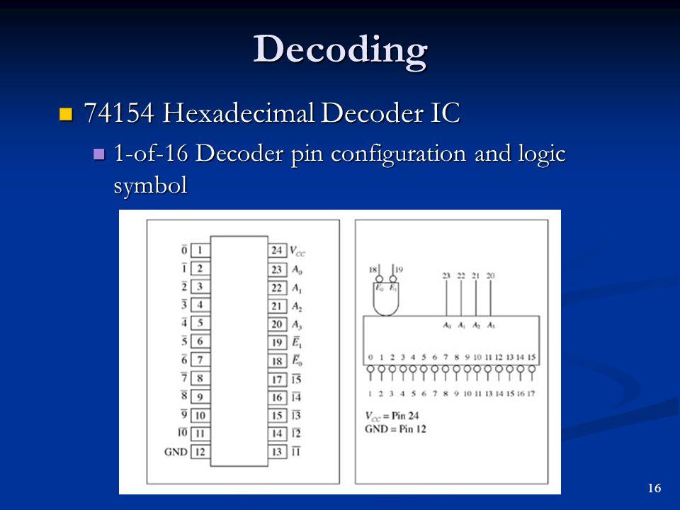 74154 Circuit Diagram Index listing of wiring diagrams