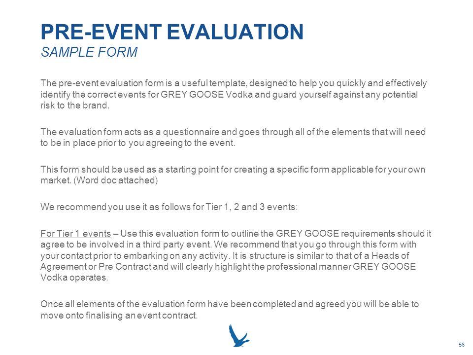 Event survey sample questions